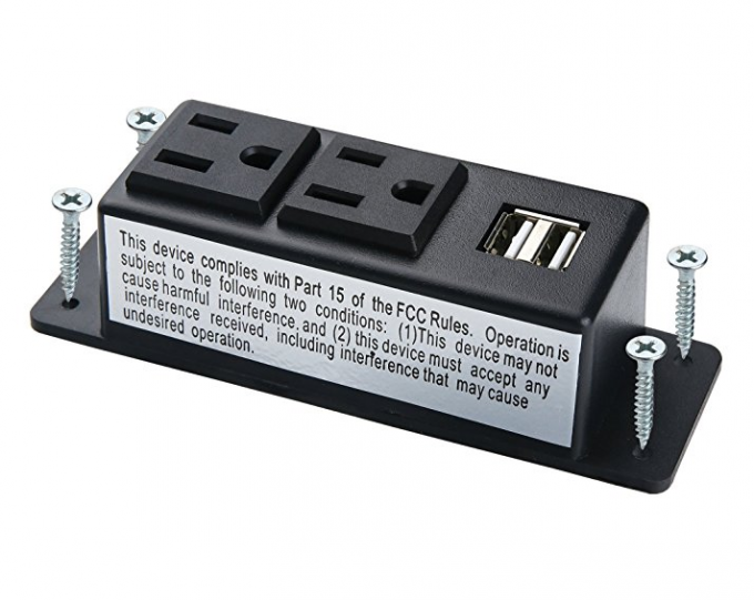 Mountable Conference Table Socket Phone Charger Conference Room - Conference room table power strip