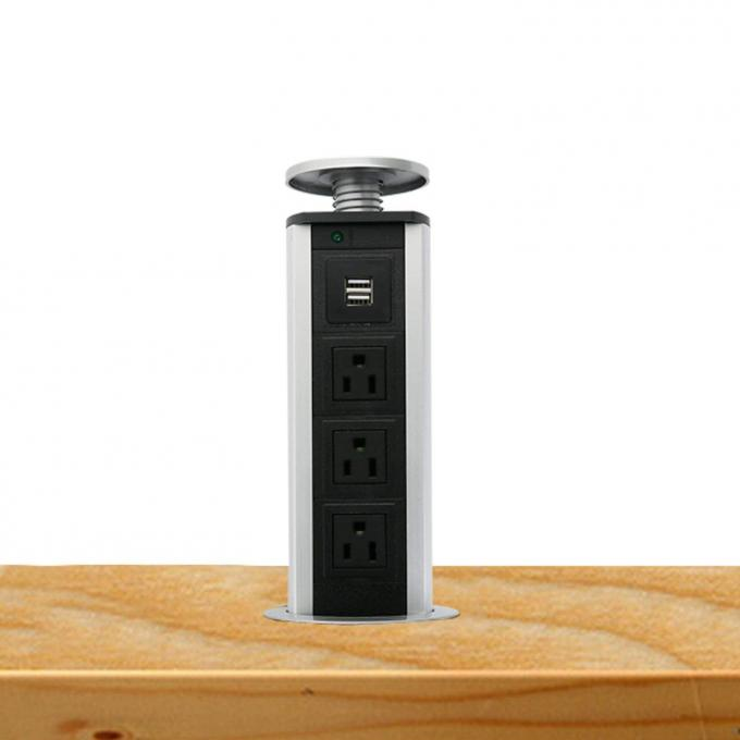 Reliable Kitchen Pop Up Power Sockets , Pop Up Power Outlet Reliable Design