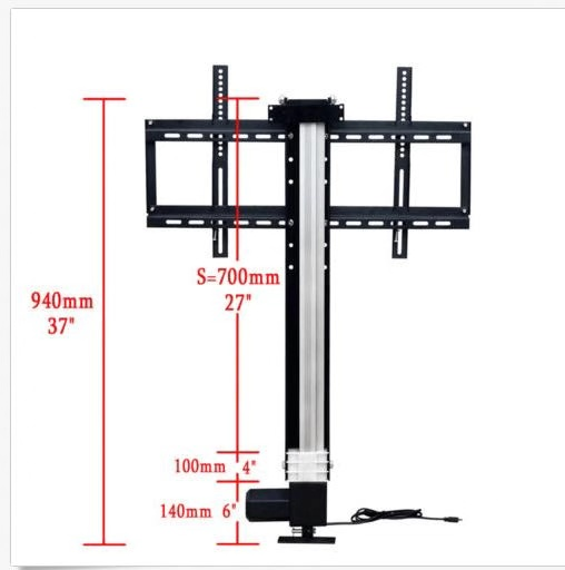 LCD TV bracket remote control lift bracket display elevator bracket hidden display bracket