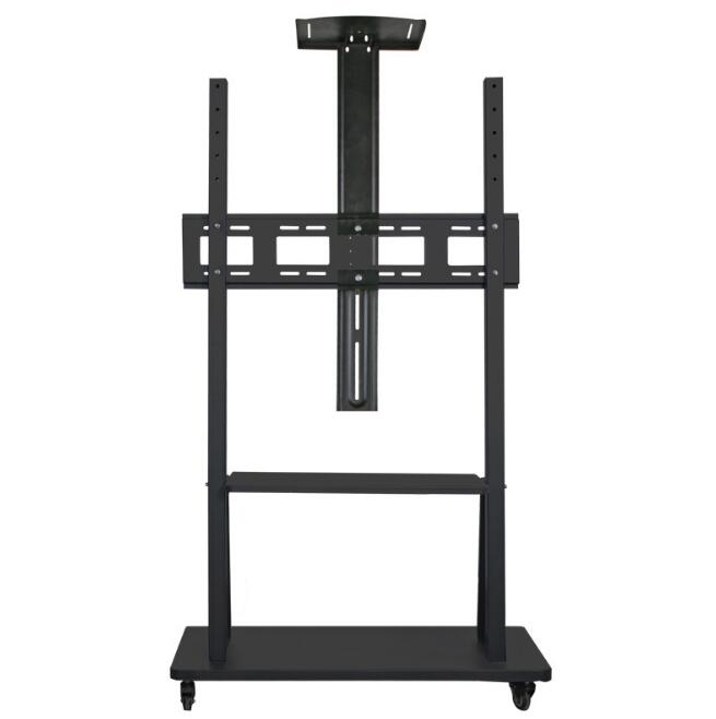 TV Mobile Bracket Conference Room LCD Monitor Lift Floor Large Screen Display Bracket Cart