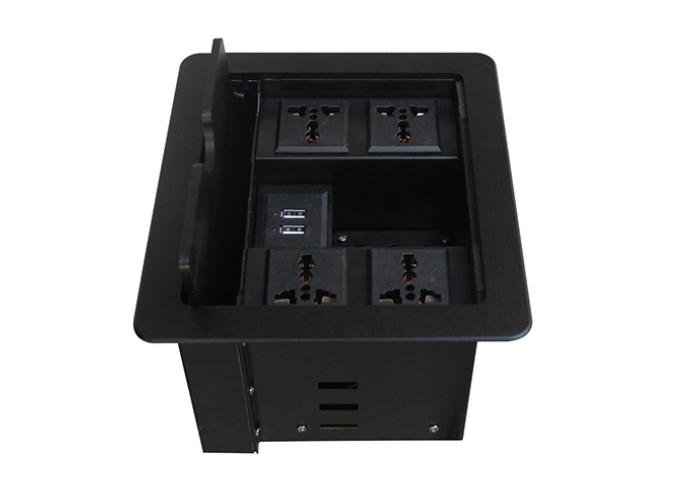 Table Mount Desk Power Outlet Usb Conference Table Electrical Box - Conference table electrical box