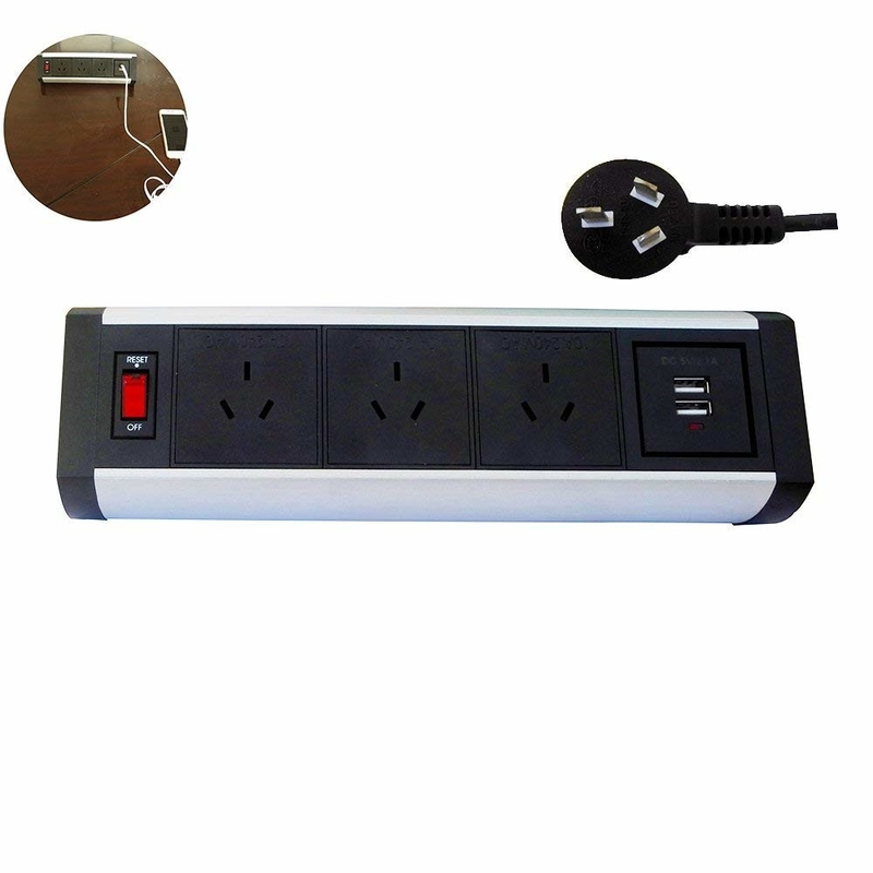 OEM Desktop Power Strip Removable Customized Color CE Certificate Proved