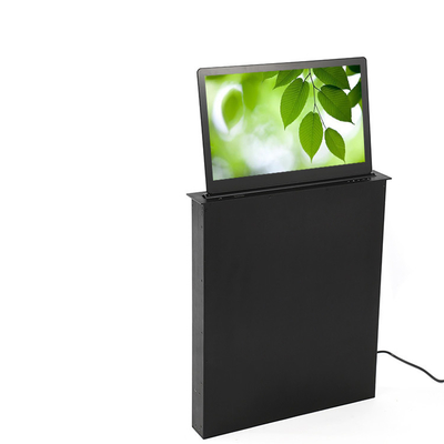 High End Conference Office Luxury LCD Monitor Lift System 1080 P In Black Color